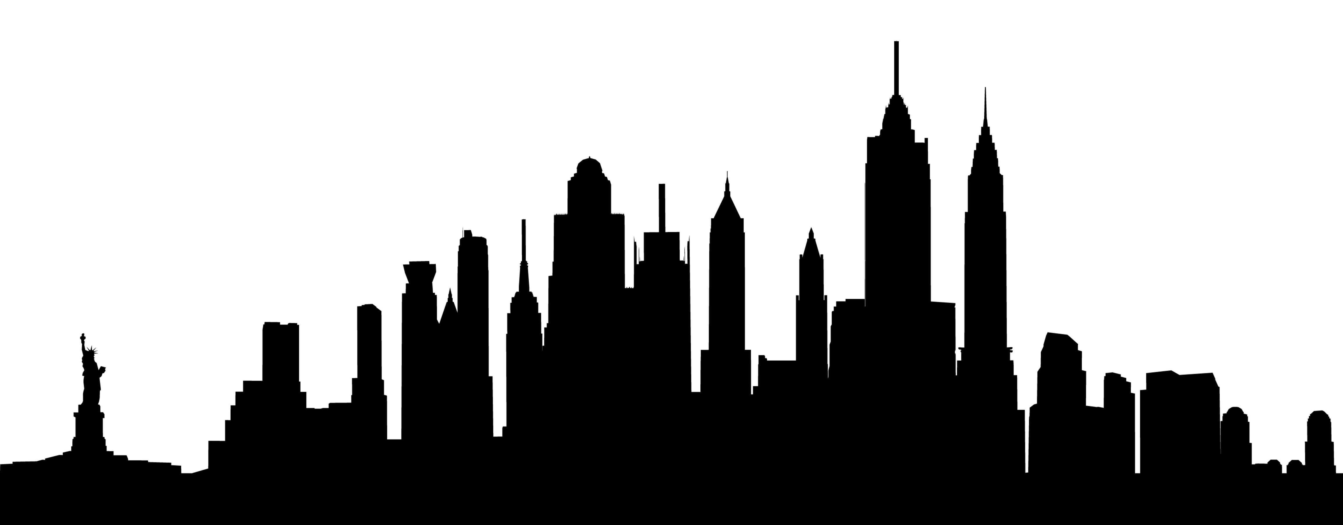 New York City Skyline New York Skyline Silhouette Skyline City Skyline