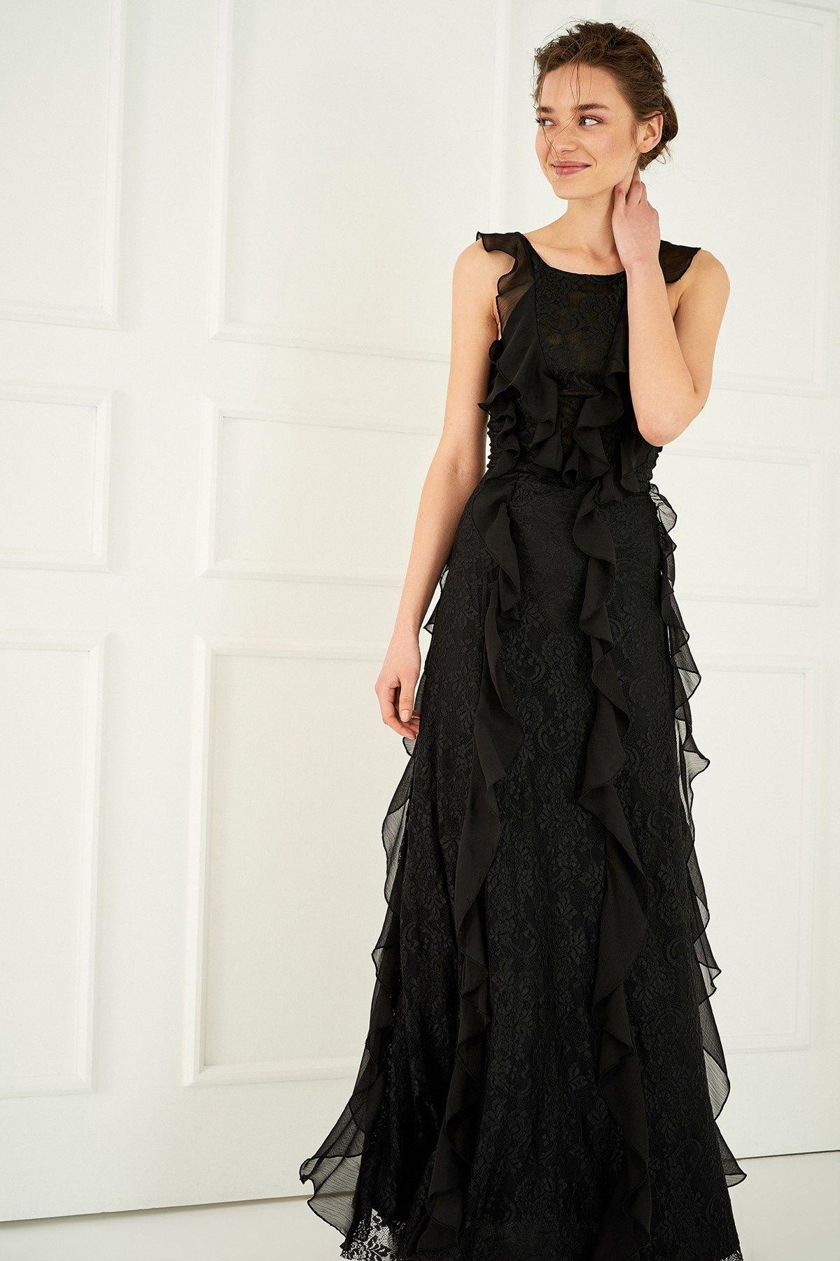 Siyah Elbise Trendyolmilla Trendyol Siyah Elbise Resmi Elbise Elbiseler