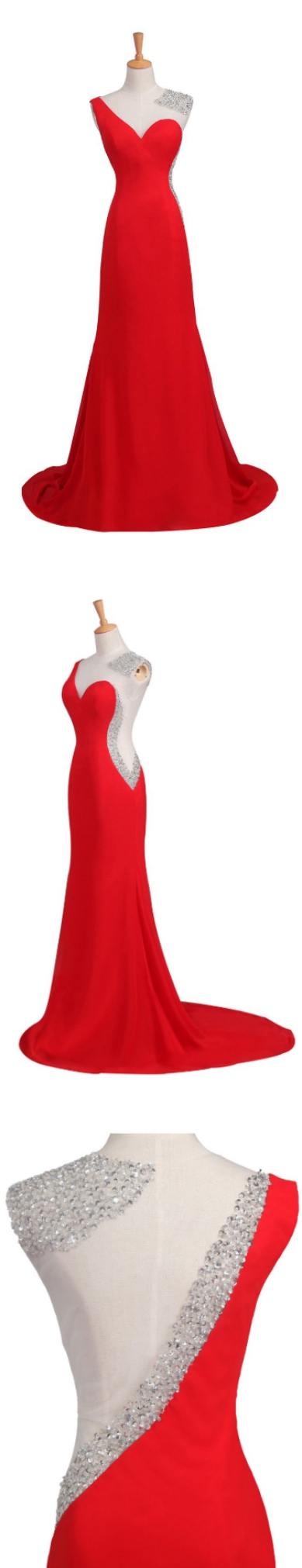 Mermaid prom dresses red prom dresses long prom dresses with