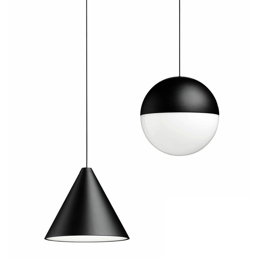flos string light. Black Bedroom Furniture Sets. Home Design Ideas