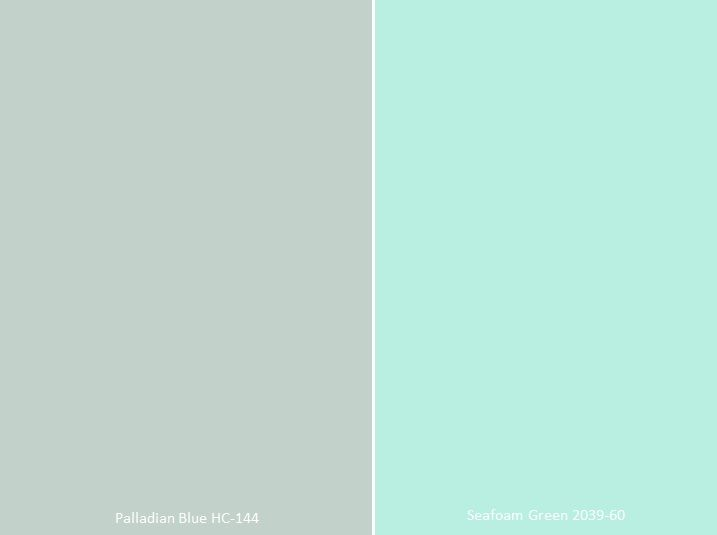 Color Conundrums By Cara Mcbroom Seafoam Green Bathroom