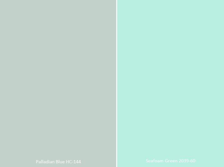 Color Conundrums By Cara Mcbroom Sea Green Bedrooms Green House Exterior Seafoam Green Bathroom