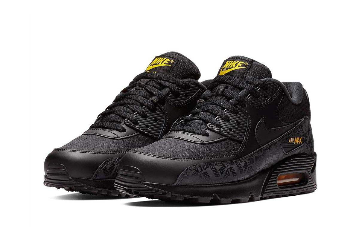 """online store d5abb 56838 Nike's Air Max 90 Will Soon Hit the Scene in """"Black/Amarillo ..."""