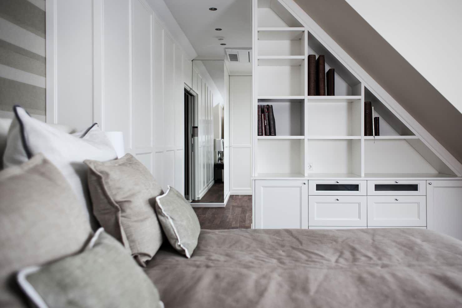 Schlafzimmer Mit Dachschragen Optimal Einrichten Wohnung