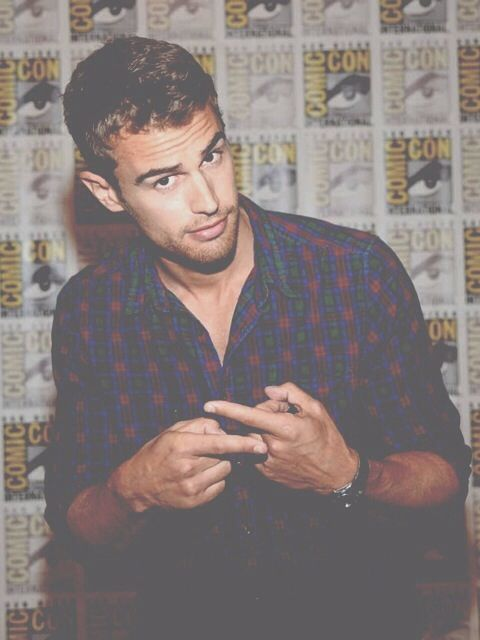 Theo James. I can't help but swoon every time I see him