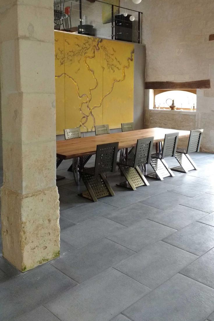 Carrelage en béton pour une décoration de style industriel en 2019 | Carrelage, Style industriel ...