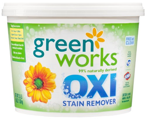 Green Works Naturally Derived Oxi Stain Remover Laundry Power Additive Ewg Grade B With Images Stain Remover How To Clean Carpet Stain