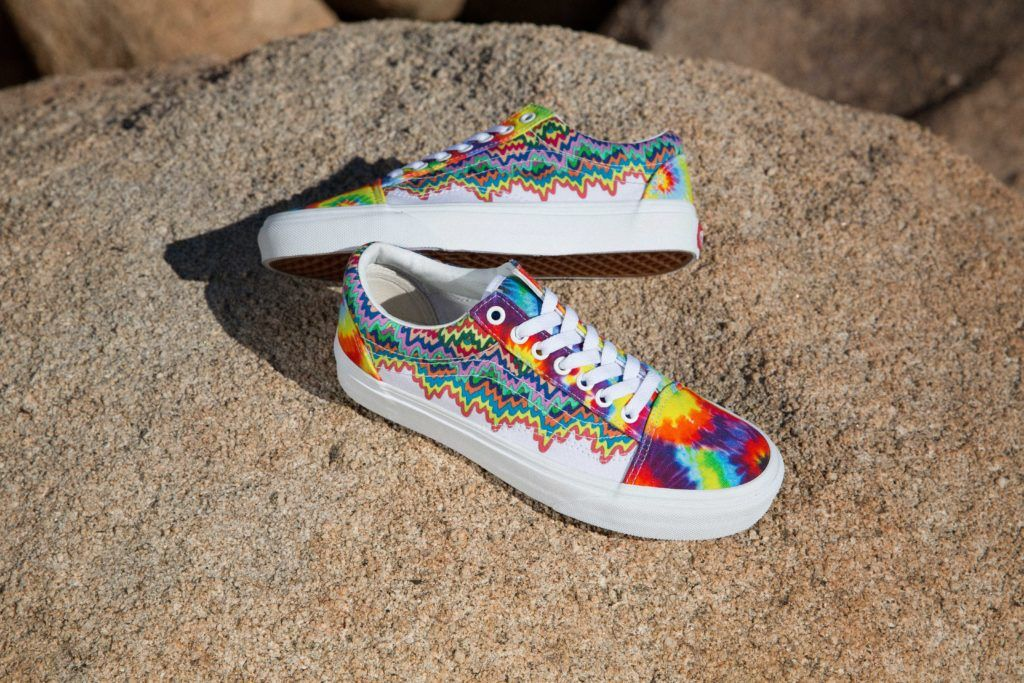 Vans Taps Psychedelic Artist Jen Stark For Chicago Event And