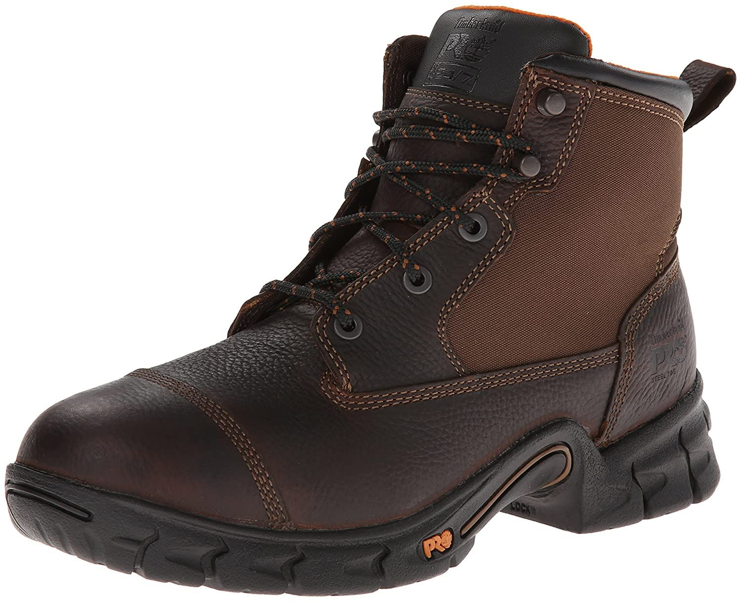 Timberland PRO Men's 6' Excave Steel Safety Toe Work Boot