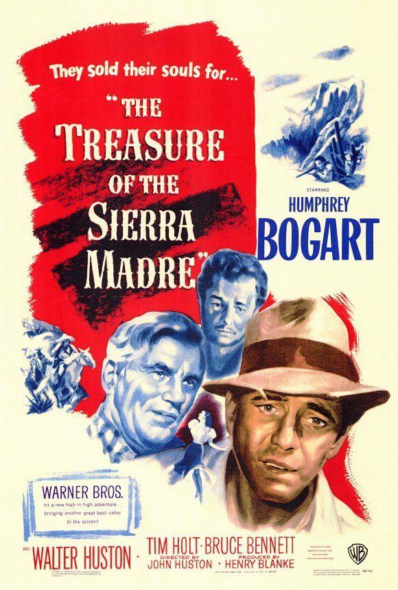 Treasure of the Sierra Madre 27x40 Movie Poster (1948)   Pinterest ...