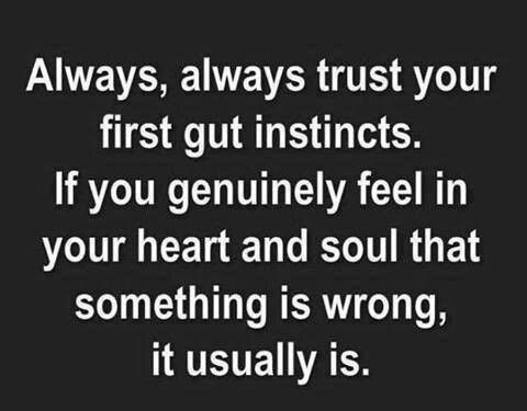 Always Trust Your 1st Gut Instinct Inspirational Quotes Quotes Life Quotes