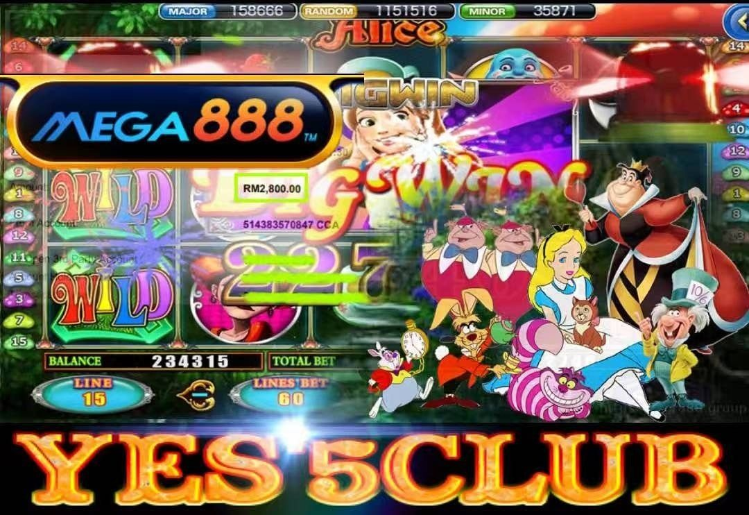 🎰Mega888🎰 🙍Alice🙍 💎Free Spin💎 💥Withdraw 2800💥 | yes5