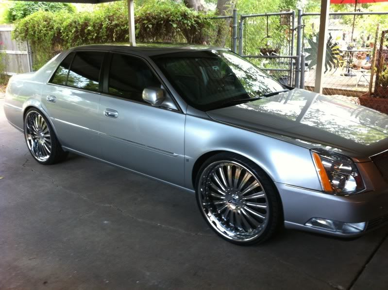 Cadillac Dts Rims Re 24 Inch Rims On 2008 Dts Jl Car Collection