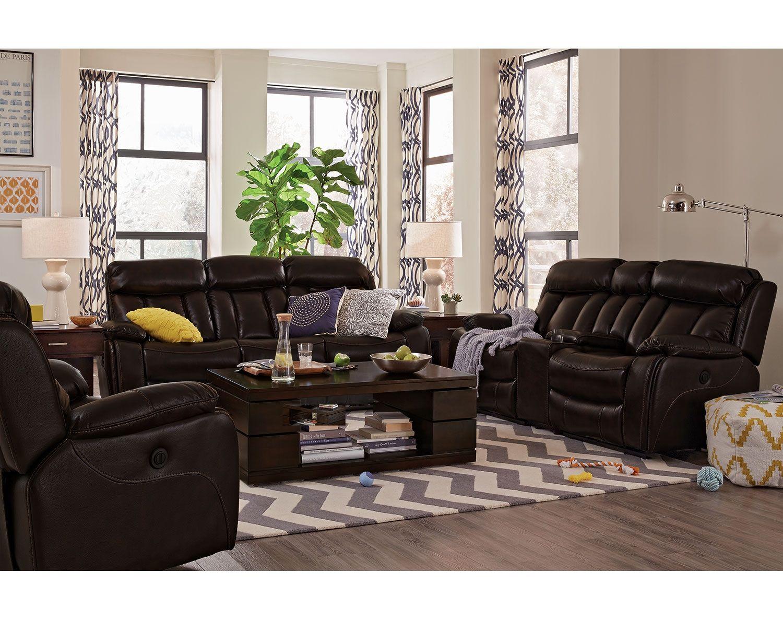 The Diablo Ii Collection City Living Room Value City Furniture Furniture Sofa Set