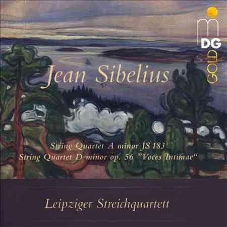 Leipzig String Quartet - Sibelius: String Quartets Op. 56 & JS 183