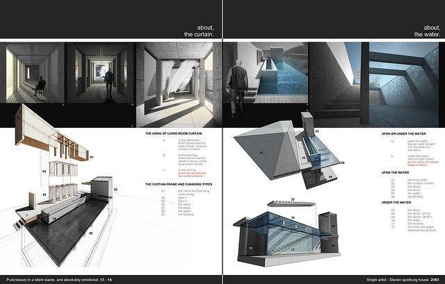 cool simple interior design portfolio layouts - Google Search ...