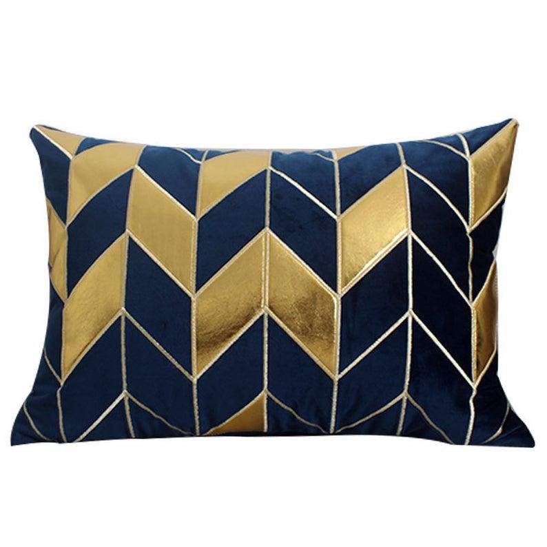 Lumbar Pillow Decorative Pillow Navy Velvet Pillow Velvet Etsy Living Room Decor Pillows Blue Living Room Decor Navy Gold Bedroom