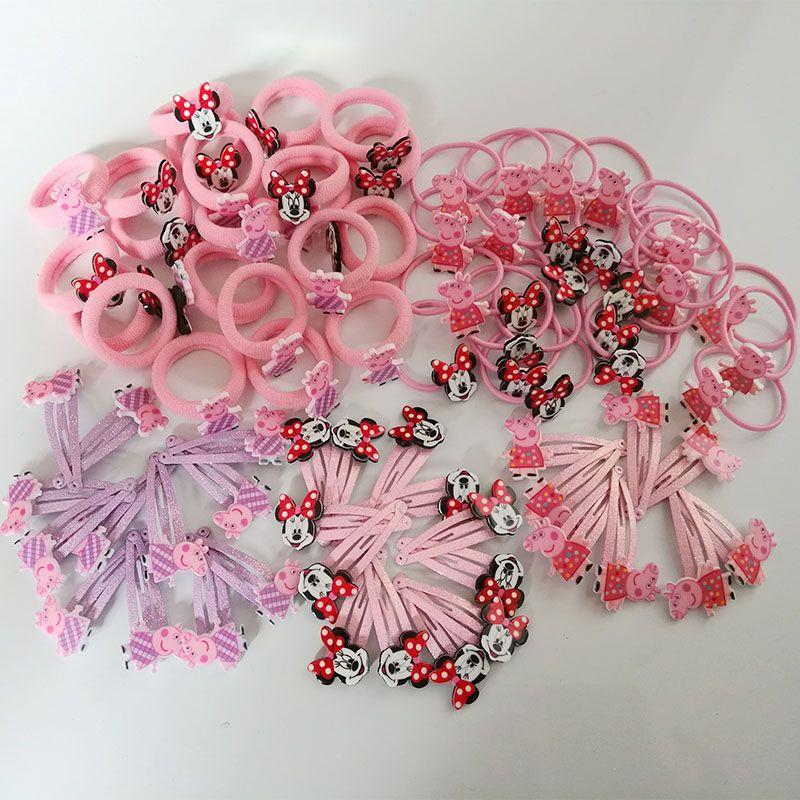 20PC Kids Baby Bowtie Hair Clip Girl Children Toddler Flower Accessories Hairpin