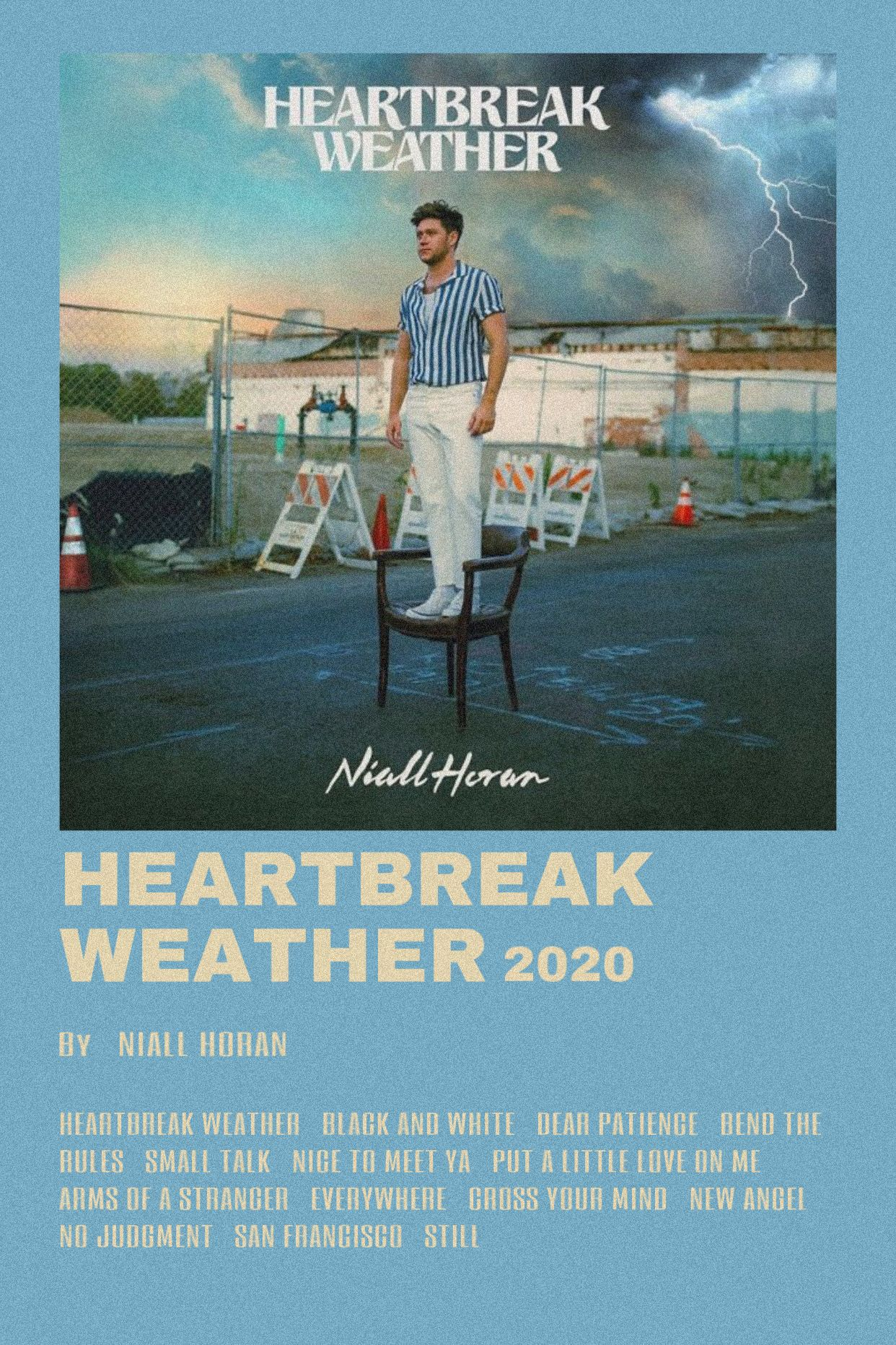 Heartbreak Weather By Scarlettbullivant In 2020 One Direction Photos Music Poster Movie Posters Minimalist