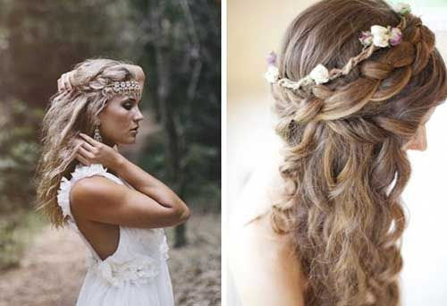 26 Nice Braids for Wedding Hairstyles | warkocz | Pinterest | Nice ...