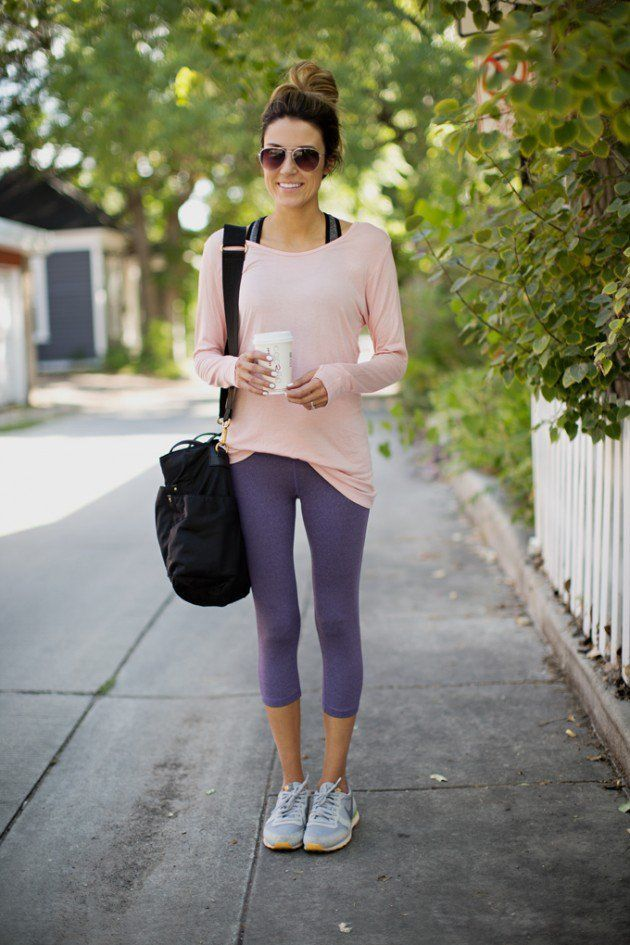 How to Look Fabulous in Yoga Pants | Sporty outfits, Sporty and Spring style