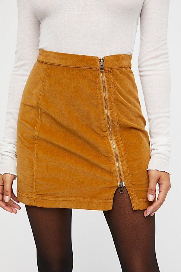 a69e0f2298 Knee Socks, Skirt Outfits, Leather Skirt, High Waisted Skirt, Cord, Free