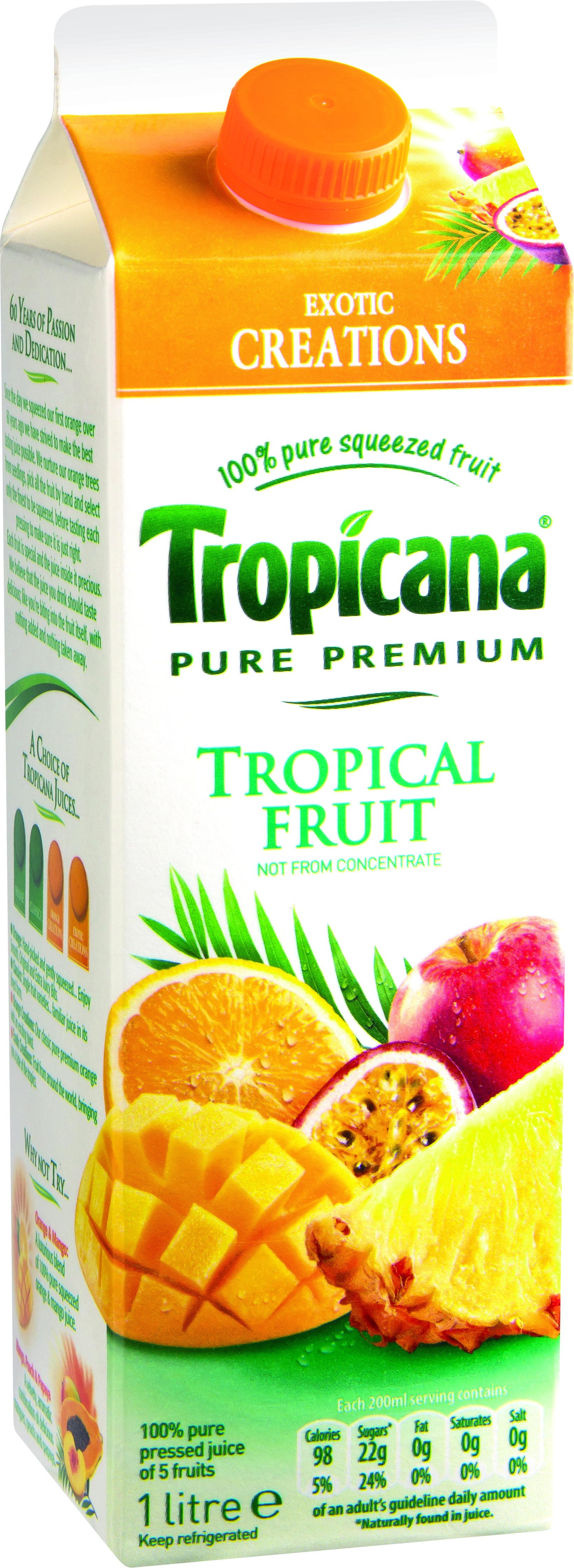 Tropicana Tropical Fruit Fruit Tropical Fruit Tropicana