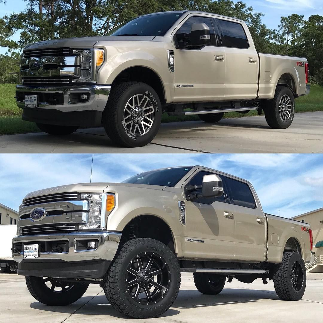 Little Before Amp After On That Ford F 250 Powerstroke