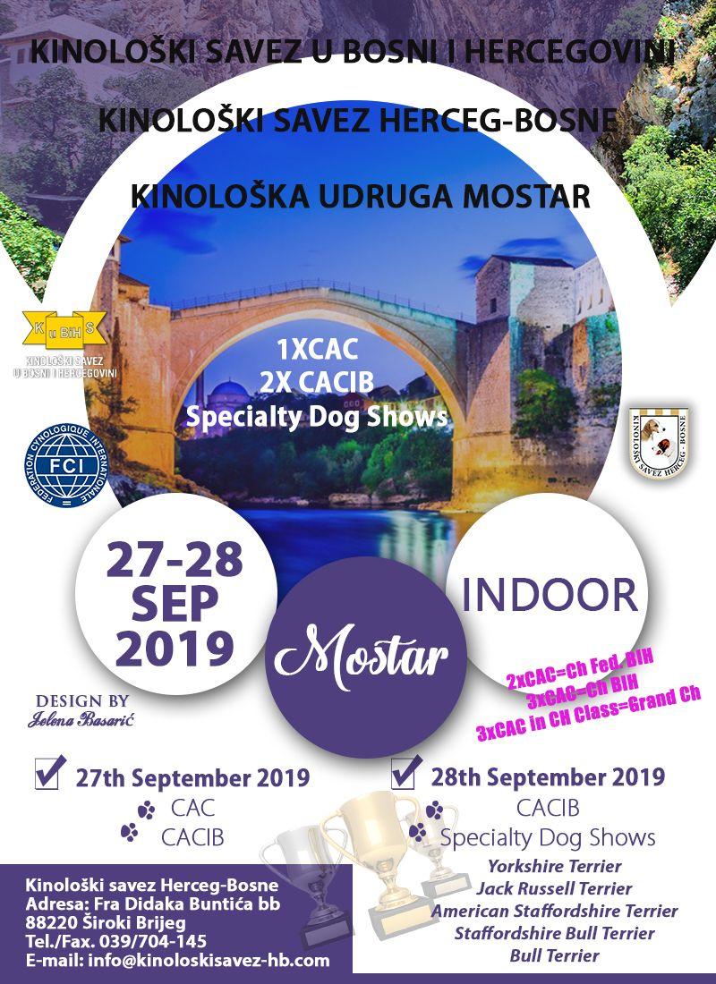 International National Specialty Dog Shows Mostar 2019 27 28th