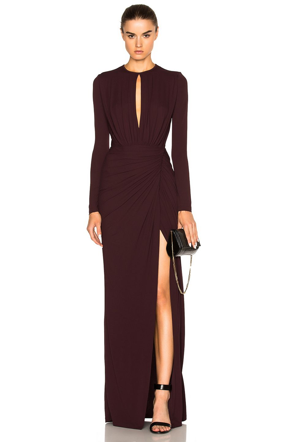 Image 1 Of Givenchy Gown In Burgundy Usd 2 990