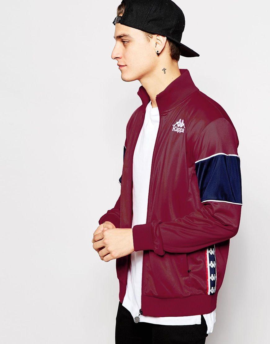 e060c88f1a5be Kappa Track Jacket