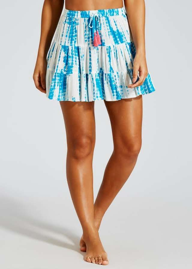 0535c87b43 Tie Dye Beach Skirt – Matalan | Clothes, shoes and accessories ...