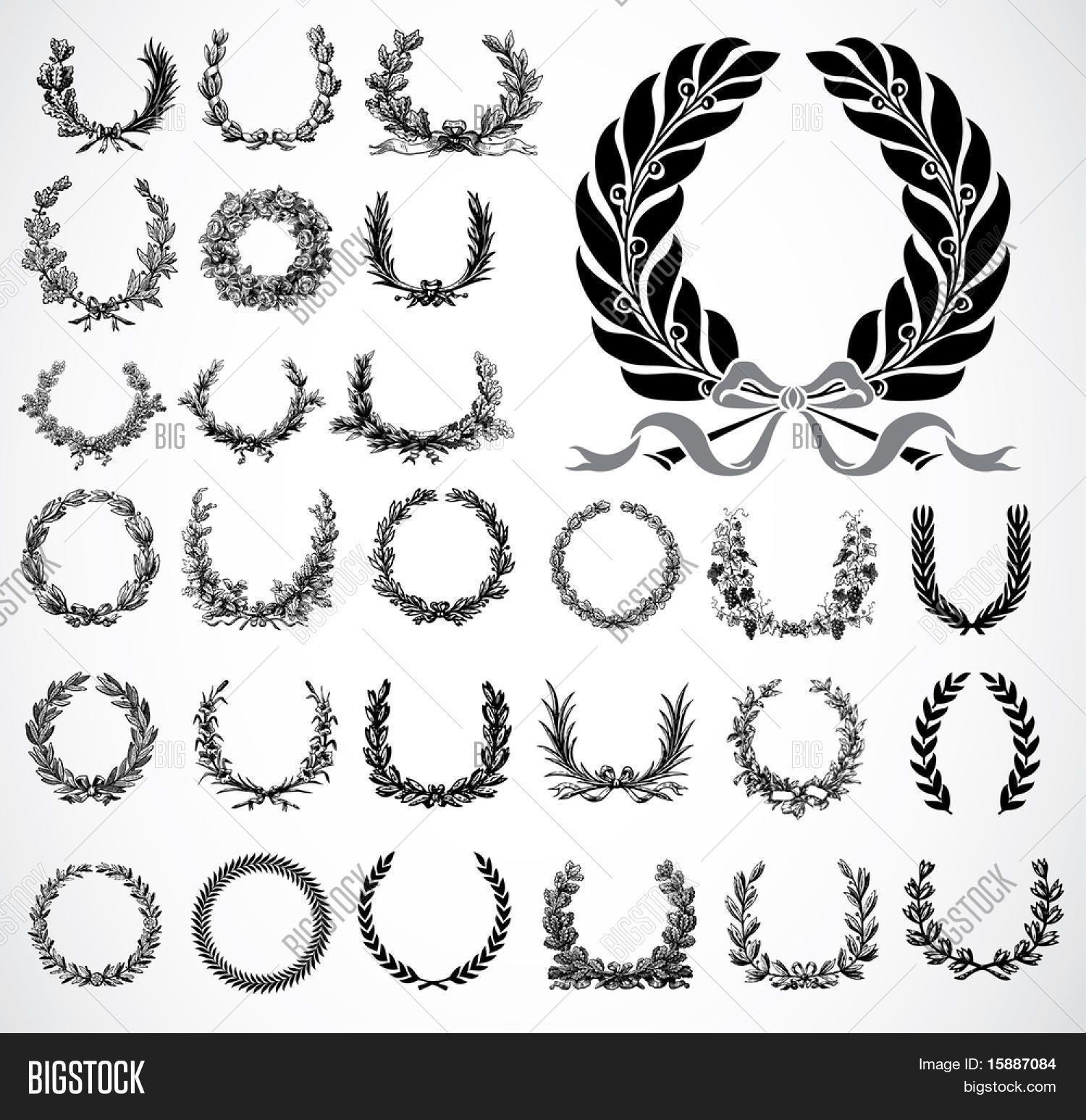 Bildergebnis Fur Vorlagen Wreath Tattoo Greek
