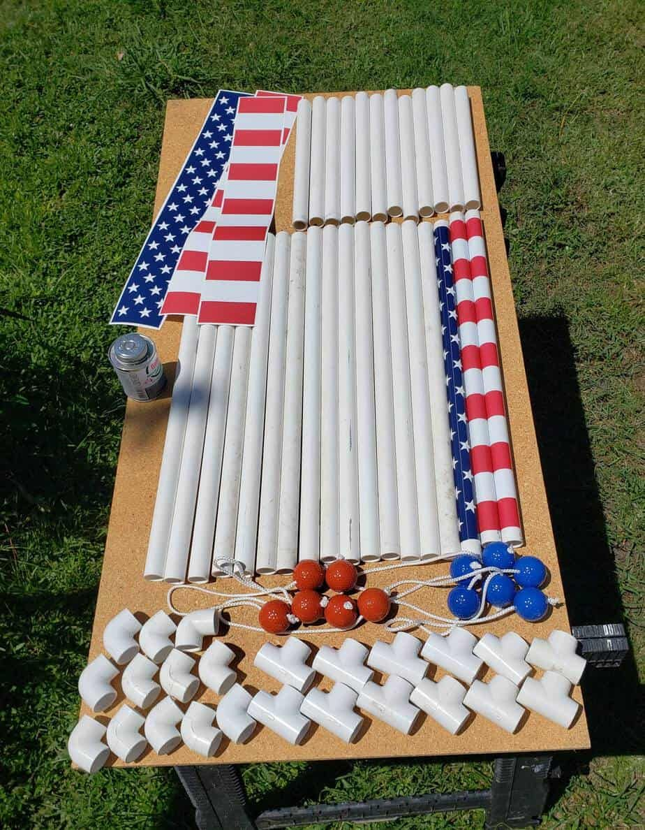 Build your own ladder golf lawn game with these easy to