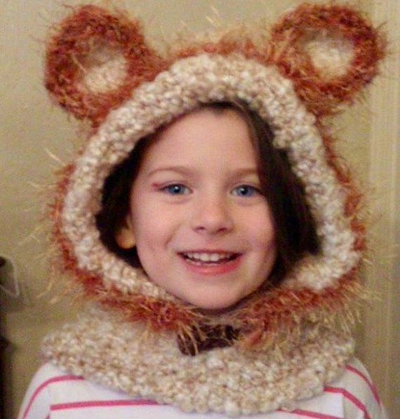 Cuddly+Bear+Hooded+Cowl+by+Gmaswoodlandwhimsy+on+Etsy