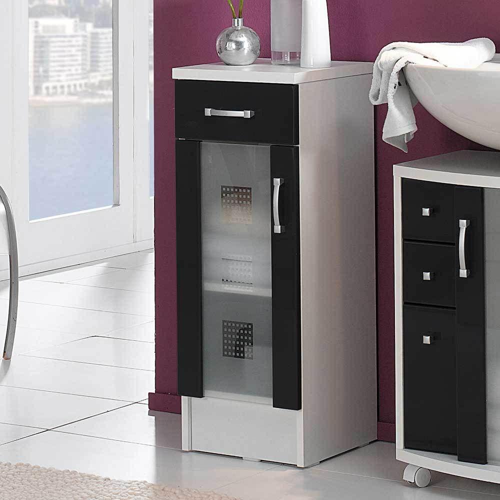 Badezimmer weiss anthrazit excellent with badezimmer weiss anthrazit best badschrank weiss for Badmobel anthrazit hochglanz