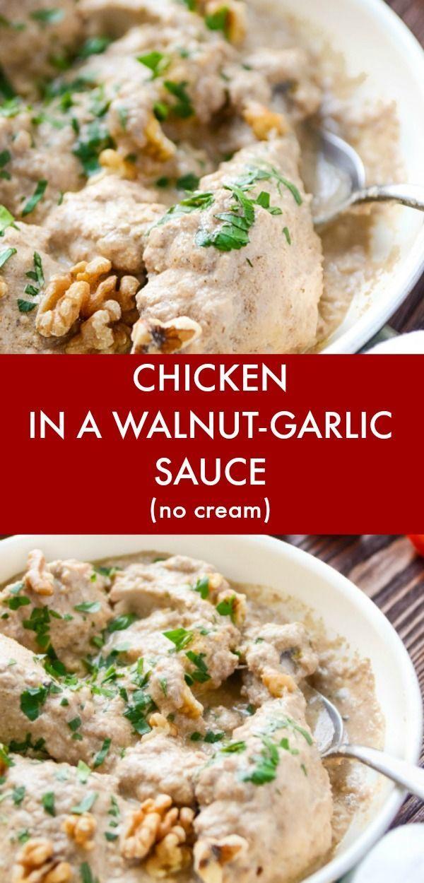 Satsivi (Chicken In A Walnut Garlic Sauce) images