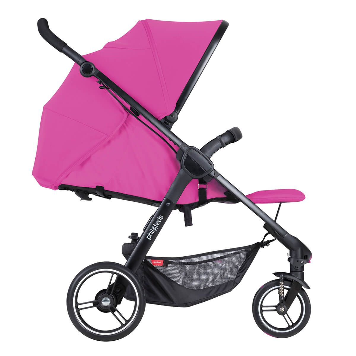 phil&teds smart stroller is compact&ready to go. the