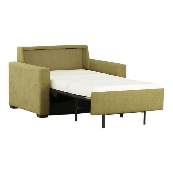 Love This Crate Barrel Twin Sleeper Chair Because The Mattress