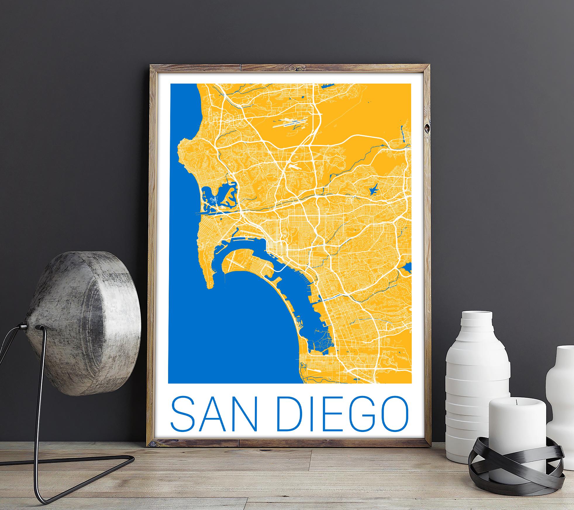 Fine Wall Art San Diego Illustration - Art & Wall Decor - hecatalog.info
