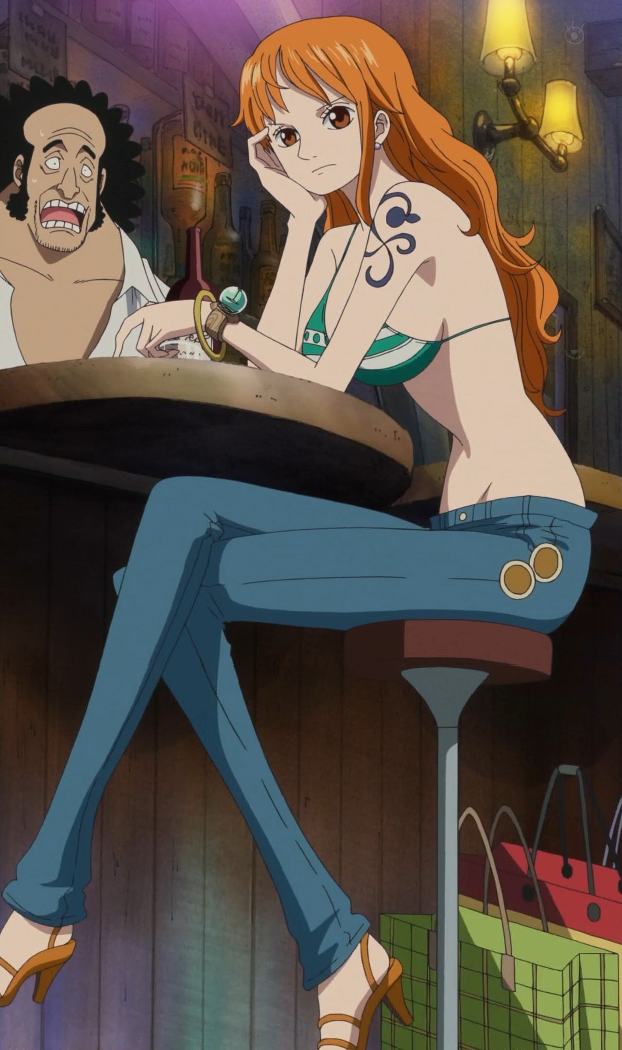 Anime Porn Nami One Piece nami after time skip. yum.   one piece drawing, one piece