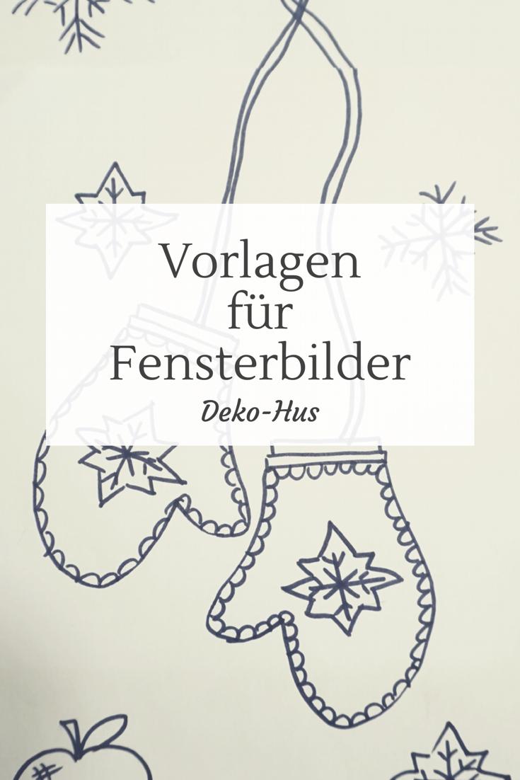 Fensterbilder Weihnachten Vorlagen kostenlos   Deko Hus ...