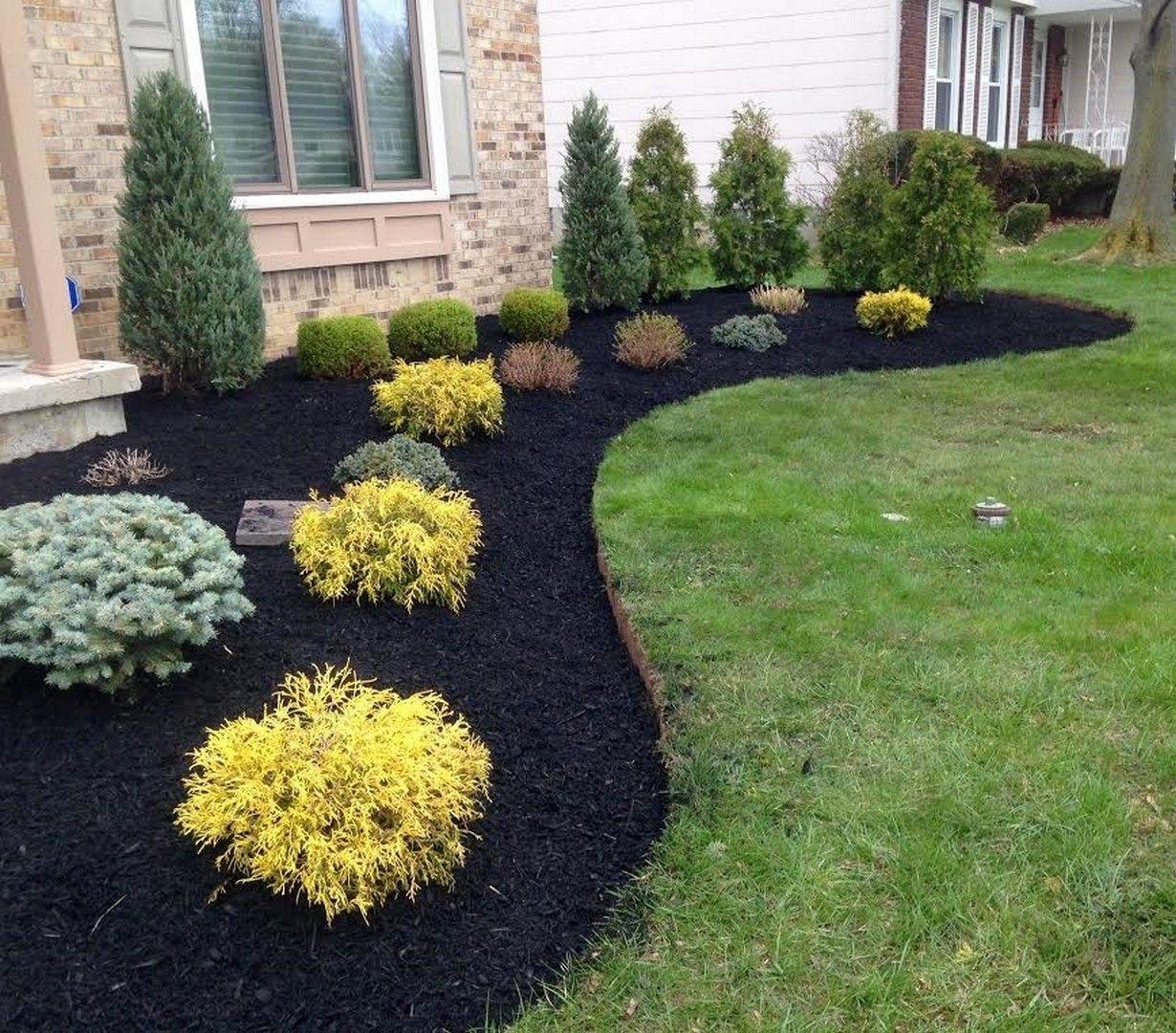 25 Gorgeous Front Yard Garden Landscaping Ideas #smallfrontyardlandscapingideas