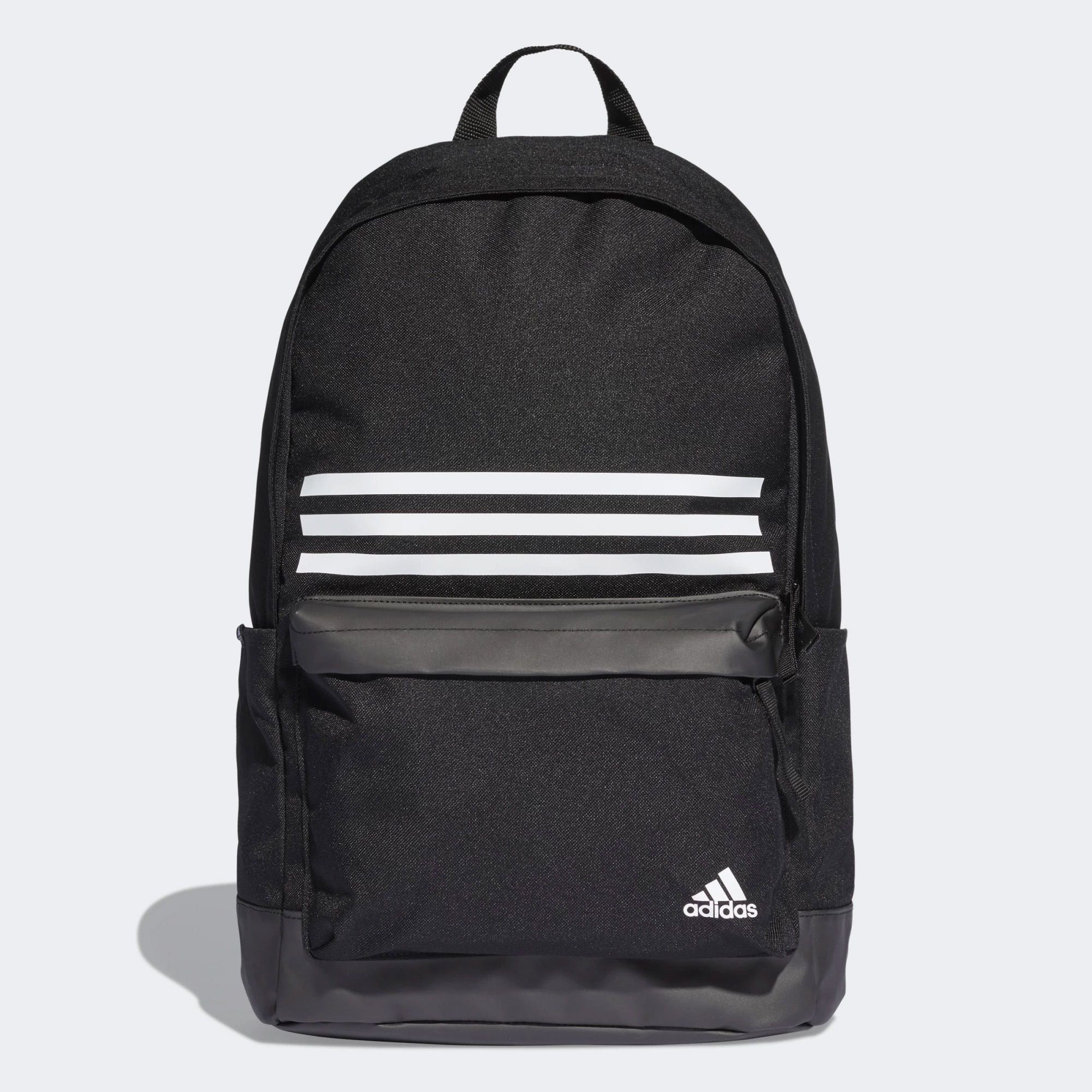 3f62d374e2ca Adidas UK Adidas Classic 3 Stripe Pocket Backpack (dt2616) in Black White