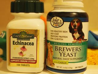 5 Apple Cider Vinegar Fish Oil Echinacea And Brewer S Yeast The Other Artillery Brewers Yeast Mange Treatment For Dogs Mites On Dogs