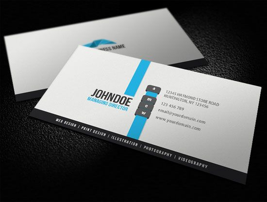 Clean business card design inspiration design business card clean business card design inspiration reheart Gallery