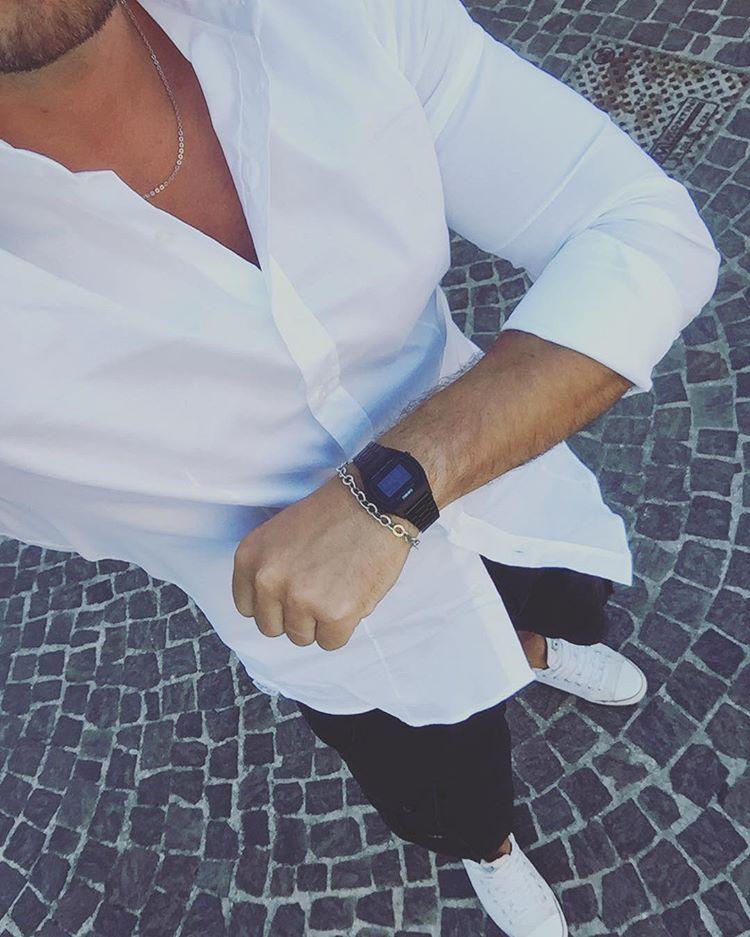 Carmine Di Donato con un Casio b640wb-1bef indossato al polso