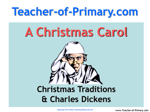 A Christmas Carol Unit of Work - PowerPoint and worksheets for upper ...