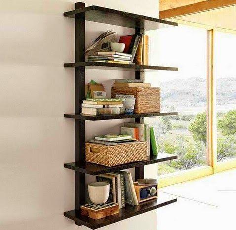 50 desain rak dinding minimalis (termasuk rak buku