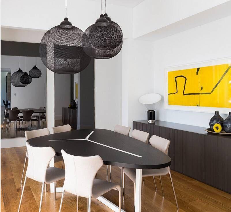 Casual Dining Room Buffet Decorating Ideas: Moooi Non Random Pendant Lights